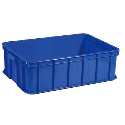 Solid Crate 629 x 425 x 192mm 37L with lid